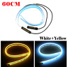 Ultra Thin 60cm Car Soft Tube LED Strip Daytime Running Light Turn Signal Lamp@