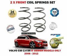FOR VOLVO C30 2.4 D5 R DESIGN MODELS 2006-2012 NEW 2 X FRONT COIL SPRINGS SET