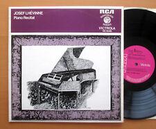 Vic 1046 JOSEF LHEVINNE récital de piano Original Mono Recordings RCA Excellent LP