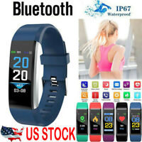 Fitness Smart Watch Activity Tracker Women Men Fitbit Android iOS Heart Rate US