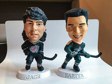 1998 Headliners XL Jaromir Jahr and Paul Karina figures. hockey vintage card