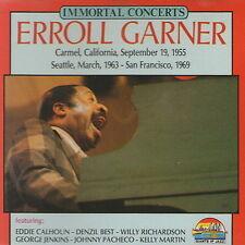 CD Album Erroll Garner Immortal Concerts California 1955 Seattle 1963