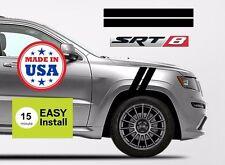 Jeep Cherokee Fender Stripes SRT8 PAIR Grand Sport Graphics