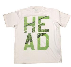 Head Tshirt Tennis White Medium