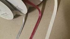 50 YDS of custom print ribbon- Grossgrain and Sparkling Edge Satin