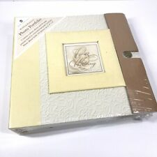 New Seasons Photo Album Our Wedding Memories Portfolio Journal Set Acid PVC Free