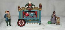 The Old Puppeteer-Set Of 3-Heritage Village Collection-Dept. 56
