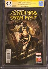Power Man and Iron Fist #1 CGC 9.8 SS Cast Singed 9X STAN LEE ALI In-Store RARE