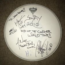 RARE SIGNED SOULFLY DRUMHEAD 2010 TOUR SEPULTURA