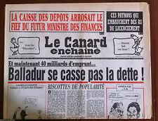 Le Canard Enchaîné du 9/06/1993; Trésor caché à la mairie de Paris, Facture...