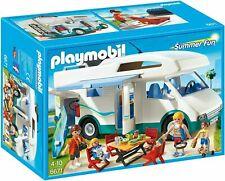 """Playmobil 6671 """" Summer Fun Family Camper """", Nip"""
