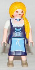Playmobil 9147 Series 11 Girls Lebkuchen Lady Bavaria Braid Yellow Blonde Hair