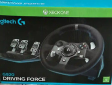 Faulty -Logitech G920 Driving Force Racing Wheel for Xbox One -PC