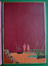 VERHAEREN La GUIRLANDE DES DUNES PIAZZA 1927 MAROQUIN DOUBLÉ  JAPON ILL CASSIERS