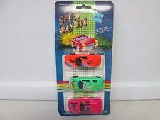 Speed Way 500 3 Car Pack w/Neon Pink Car