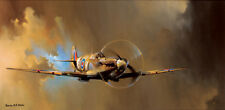 SPITFIRE! by Barrie A.F. Clark - Small Open Edition- Aviation Art Print