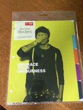 1D One Direction Limited Edition Dividers - 10 dividers, unopened, anti-bullying