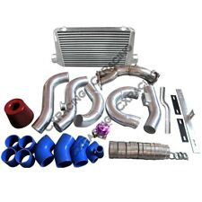 Downpipe Intercooler Turbo Intake Radiator Hard Pipe Kit For 2JZ-GTE GS300 2J...