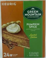 Green Mountain Keurig K-Cups Pumpkin Spice Limited Edition 24 Pods 07/2021