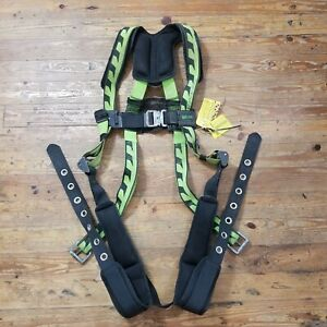 Miller By Honeywell Body AirCore + SafeWaze Universal Harness + Web Devices Lot