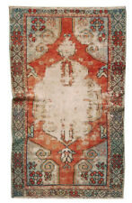 3x5 Vintage Oriental Hand knotted Traditional Area Rug Turkish Rug