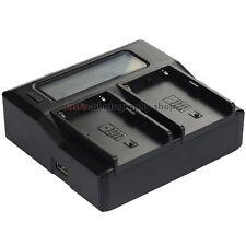 Quick LCD Battery Charger for Sony BP-U30 BP-U60 BP-U65 BP-U90 PMW-EX1 PMW-EX3