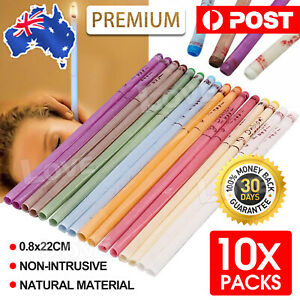 10pcs Natural Beewax Ear Candles Aromatherapy Candle Candling Relax Treatment