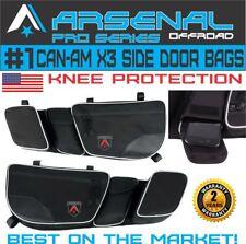 Can-Am New Full Door Storage Bags Knee Pad Maverick X3, Maverick X3 MAX
