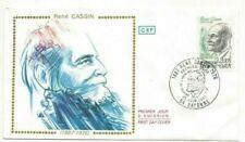 Envelope CEF 1er Jour Rene Cassin 1983