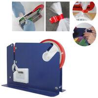 Metal Plastic Bag Neck Celotape Sealer Machine Tape Dispenser for Fruit Veg Food