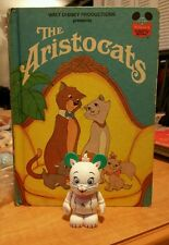Disney Wonderful World Reading Book The Aristocats w/ Vinylmation Marie