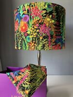 30cm Lampshade In Liberty Of London Tresco 'Neon' Tana Lawn Cotton Fabric