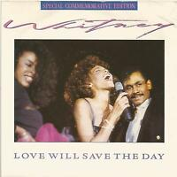 Whitney Houston - Love Will Save The Day special commemorative edition single
