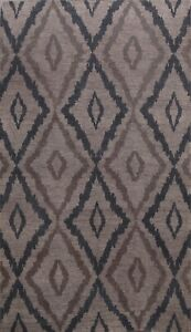 Geometric Moroccan Oriental Area Rug Hand-knotted Wool Home Decor Carpet 5x8 ft