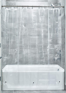 iDesign 3.0 Liner Shower Curtain, Curtain for Shower, Made of Mould-Free PEVA, X