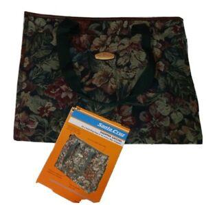RICARDO Beverly Hills - Shopper Satchel Travel Carry on Bag Purse Tapestry Print