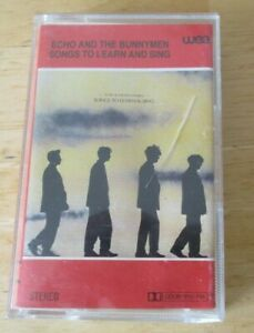 Echo and the Bunnymen cassette Songs to Learn and Sing, 1985,240767-4