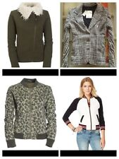 aeropostale womens varsity jacket fleece sweatshirt FULL-ZIP size S,M,L