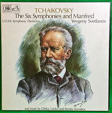 SLS 881 Svetlanov / Tchaikovsky - The 6 Symphonies & Manfred, EMI FIRST EDITION