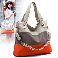 Women's PU Leather  Purse Bags Satchel Messenger Bag Shoulder Handbag Tote Hobo