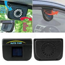 Solar Power Car Window Fan Auto Ventilator Cooler Vent Vehicle Ventilation DE