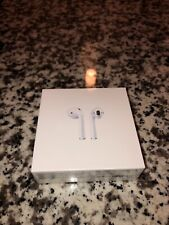 New listing Apple AirPods 2nd Generation with Charging Case - White, Factory Sealed
