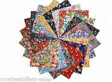 Charm Packs Quilting Fabric Flowers Fabric Concord Fabric New Fabric Squares Lot