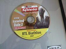 Bild Computer Spiele 3/2009 Rollenspiel Icewind Dale 2 RTL Biathlon