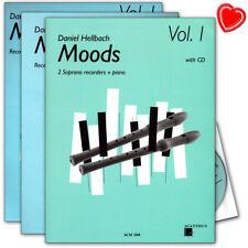 Moods Band 1 - 10 Stücke für 2 Sopran-Blockflöten - ACM288 - 9990122039310