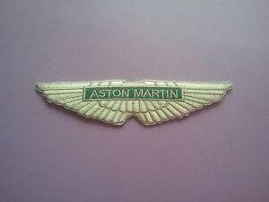 Aston Martin Sew or Iron On Patch Racing Car Motorsport Badge