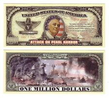 DOLLARS US ATTACK ON PEARL HARBOR
