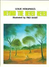 BEYOND THE NEVER NEVER by Leslie Horsphols Illust by PRO HART 1983 POETRY ART