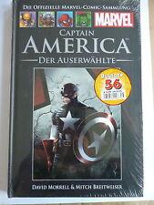 1x Offizielle Marvel Comic Sammlung Nr. 53 - CAPTAIN AMERICA Der Auserw. - NEU