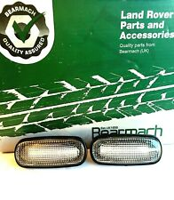 LAND ROVER DEFENDER LED STYLE CLEAR SIDE MARKER REPEATER LIGHT SET XGB100310LLED